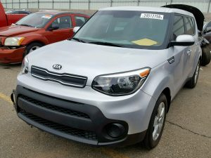 Kia stolen and recovered with salvage title for sale