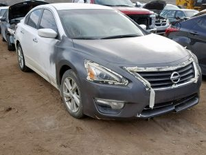 Nissan Altima Theft recovery that was vandalised