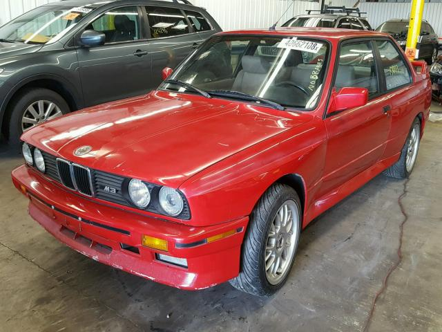 Salvage Auction 1988 BMW M3