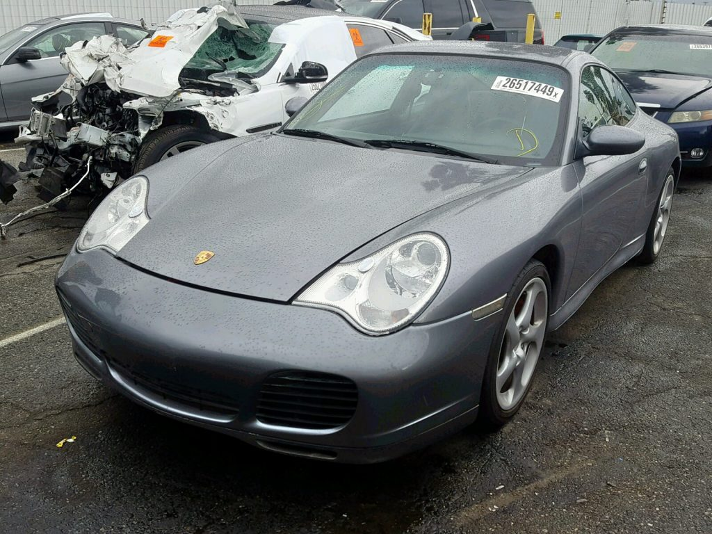 Porsche 911 at Salvage Auction