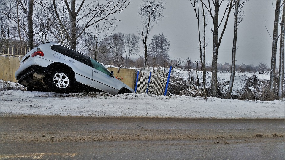 Careful when you drive on slippery roads