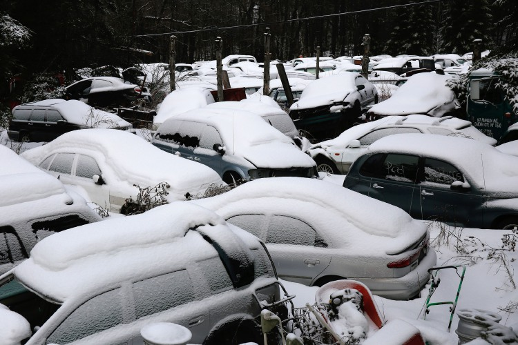 Snow can seriously damage your car