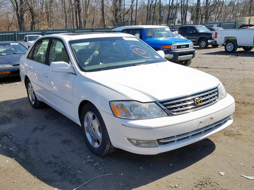 Salvage Title Toyota Avalon Auction