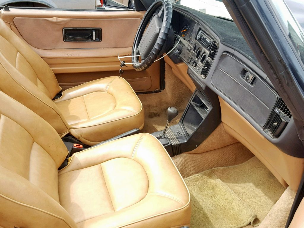 1993 Saab 900 S Great Interior On Car At Auction