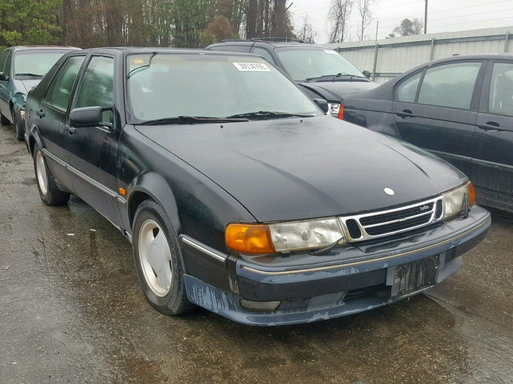 Saab 9000 Salvage Auction