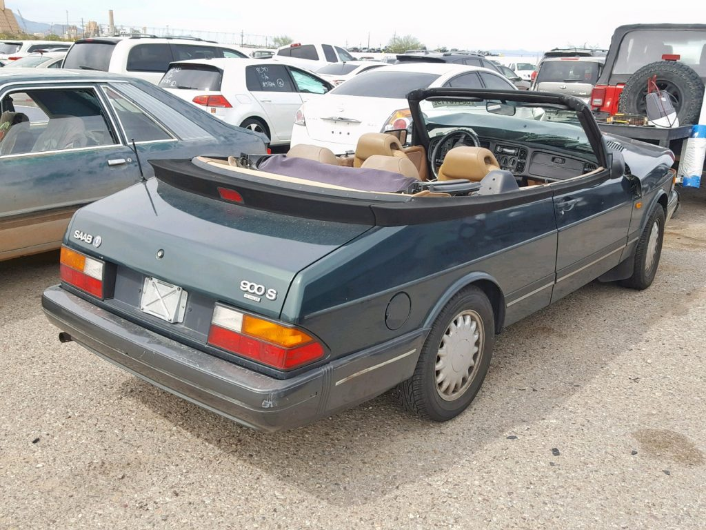 93 900S Convertible, Salvage Title