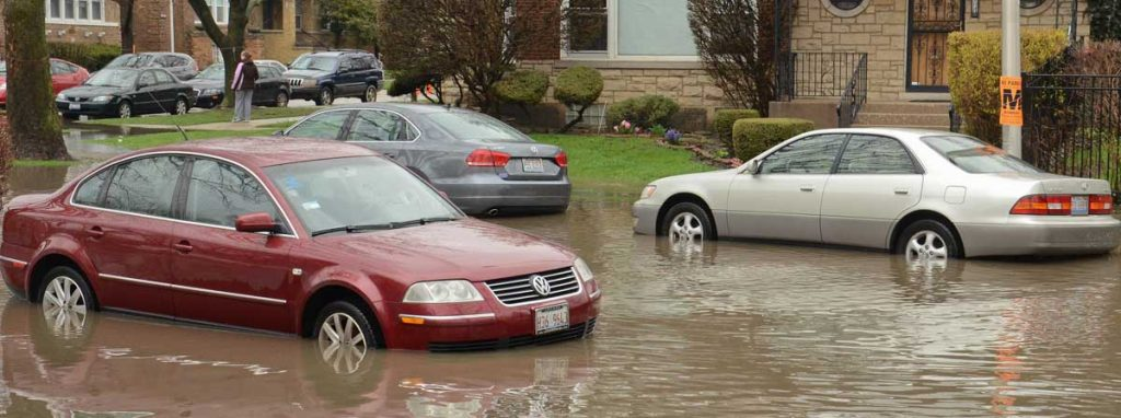 flooded salvage cars